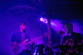 Glass Animals in concert at the Crescent Ballroom in Phoenix, AZ on September 27, 2015.