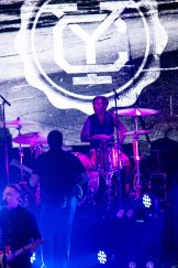 Yellowcard on their Fall 2015 U.S. Tour at Livewire in Scottsdale, AZ on October 8, 2015.
