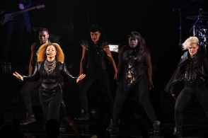 Janet Jackson performs at the Comerica Theater in Phoenix, AZ on October 19, 2015.