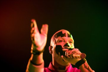 Shaggy 2 Dope of Insane Clown Posse performs live in concert at the PressRoom in Phoenix, AZ on October 20, 2015.