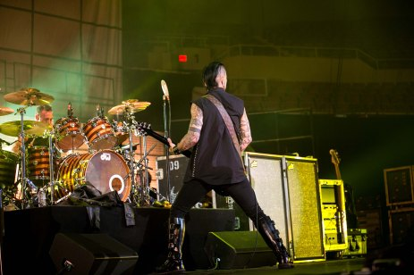Dave Navarro and Stephen Perkins of Jane's Addiction performs live in concert at the Arizona State Fair.
