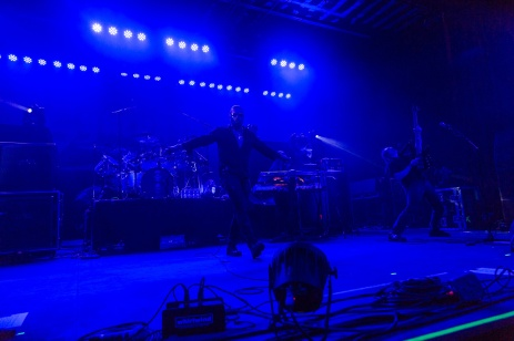 Symphony X performs live at the Marquee Theater in Tempe, AZ on October 7, 2015.