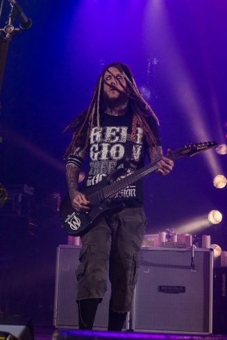 Korn performs live in concert in Tempe, AZ on October 22, 2015.