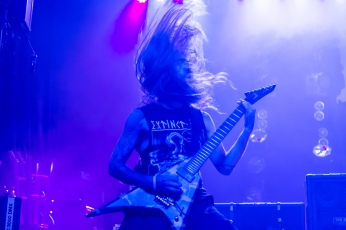 Suicide Silence performs live at the Marquee Theater in Tempe, AZ on October 22, 2015.