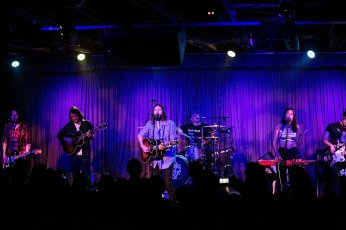 Family of the Year in concert at the Crescent Ballroom in Phoenix, AZ on November 24, 2015.