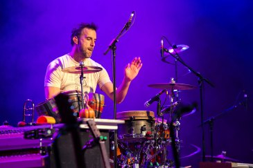 Guster performs live at the Marquee Theatre in Tempe, AZ on February 9, 2016.