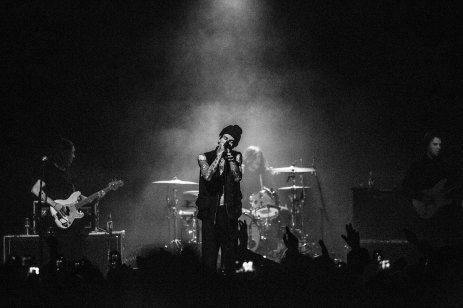 The Neighbourhood (The NBHD) performs live in concert at the Marquee Theatre in Tempe, AZ on February 3, 2016.