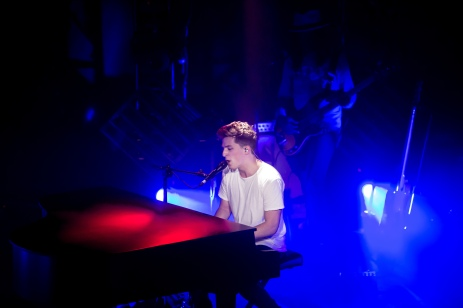 Charlie Puth performs at the LiveWire in Scottsdale on March 7, 2016.