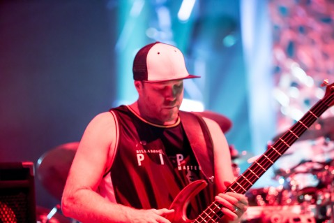 Slightly Stoopid performs on July 8, 2016 at Mesa Amphitheatre.