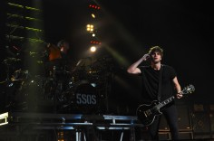 5 Seconds of Summer performs at the Ak Chin Pavilion in Phoenix, AZ